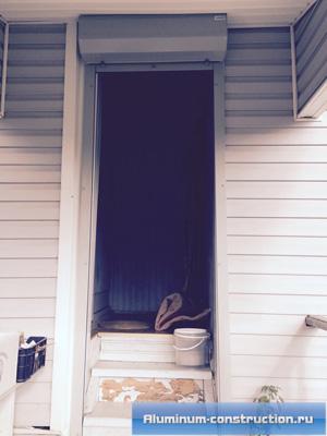 защитные роллеты для дверей