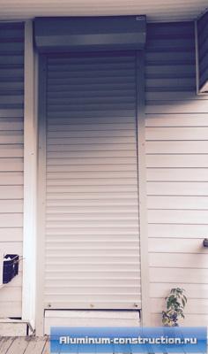 защитные рольставни для дверей
