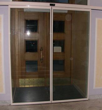 автоматические раздвижные входные двери