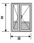 двустворчатые алюминиевые двери ags 50
