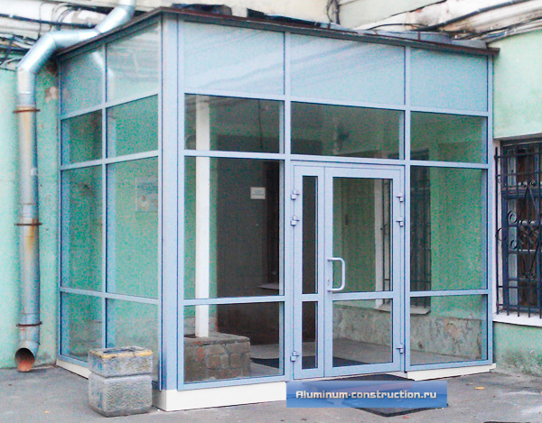 алюминиевые входные группы (двери)