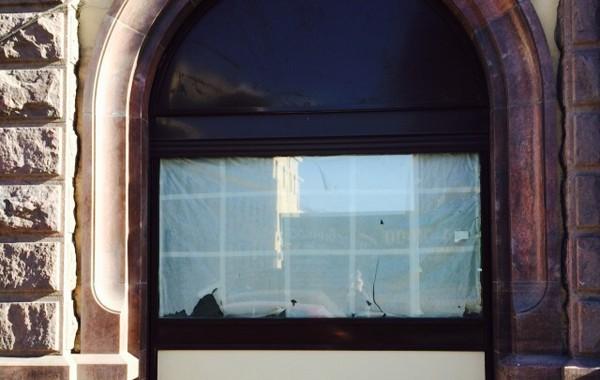 Остекление витрины